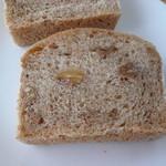 トレフール - くるみ食パン断面