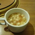 トラジ葉菜 - スープ