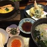 30324362 - 釜飯天ぷら定食