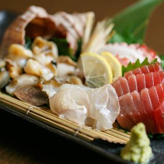 新鮮な鮮魚に美味しいおつまみ