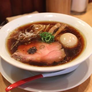 Japanese Soba Noodles 蔦 - 味玉醤油そば (2014/08)