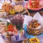 北海道料理ユック 北の海道 - 利尻会席
