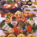 北海道料理ユック 北の海道 - 北海の幸コース