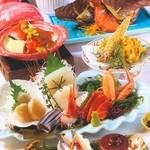 北海道料理ユック 北の海道 - オホーツク斜里会席