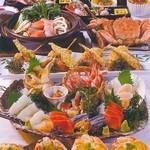 北海道料理ユック 北の海道 - 北の味紀行コース
