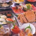 北海道料理ユック 北の海道 - 知床流氷会席