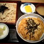 東京庵 - 親子丼と蕎麦