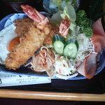 いとや - 料理写真:エビフライ定食