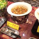 30331458 - 蒸し鶏と干しエビのサラダ