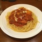 トレッテ - カレー風味のトマトチキン