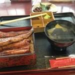 勝美 - 竹 3700円(税別)+肝焼き(奥580円)