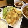 ウエスト - 料理写真:鳥天定食