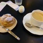 30336406 - ブレンドコーヒーとモーニングサービス(シュークリーム)