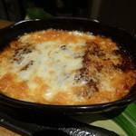 ごちそう紫陽 - なすの味噌チーズ田楽