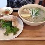 バーバーバーカフェ - 麺定食