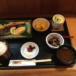 田や - おさかな膳:鯖の塩焼き