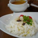 ポンテキッチン - 料理写真:チキンカレー~☆