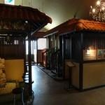 30343356 - アジアンチックないい雰囲気の店内。                                              バリをイメージして作られているそうです。