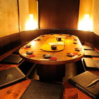 【個室】2~42名様まで幅広く対応可能な個室あり