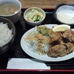 隠れ屋 和の里 - 料理写真:唐あげ定食