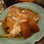 うら田 - 「鯛のあら煮 (500円)」