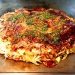 お好み焼き風花 - 豚チーズ