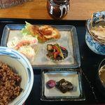 食事珈房 はしら - 玄米御膳(デザートと3年ほうじ茶つき)