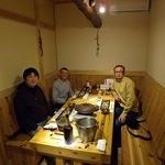 蛍雪の宿 尚文 - 感動の再会、友人の滝澤さんとはフランソワのパートナーのマルク・ヴェラを訪れた