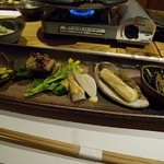 蛍雪の宿 尚文 - 山菜たち