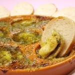 ムール貝のガーリックバター焼き(ハーフ/フル)