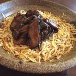 30355433 - 茄子味噌素麺