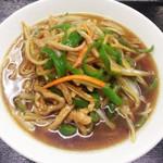 東昇酒家 - 青椒肉糸麺
