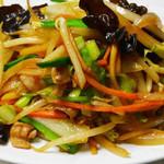 東昇酒家 - 肉野菜炒め