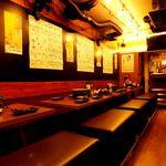 溝の口ドカンドカン酒場 - 内観写真:テーブル4名様