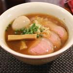 らぁ麺やまぐち - 特製追い鰹中華そば (2014/08)