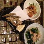 Uomamireshinkichi - 前菜3種盛り