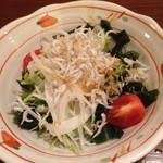 Uomamireshinkichi - 有機野菜のサラダ