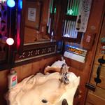 ホノルル食堂 - トイレ
