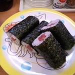 かっぱ寿司 - かっぱ寿司 西京極店の鉄火巻き(12.09)