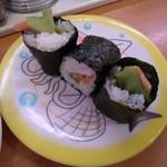 かっぱ寿司 - かっぱ寿司 西京極店のサーモンサラダ(12.09)
