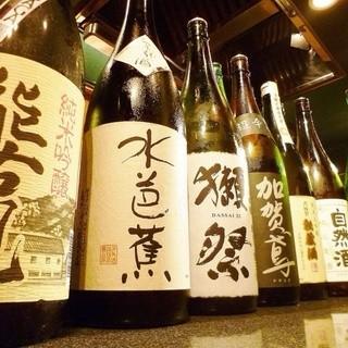 こだわりの日本酒、ワインを取り揃えております!