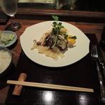 土桜 - ハンバーグランチ1600円