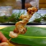 寿司光 - ほっき貝のヒモ焼