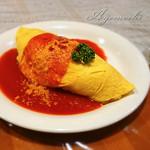 カフェライム - 料理写真:チーズオムライス