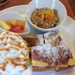 モンタカフェ - 料理写真:フレンチトースト