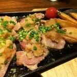 酒楽庵 - イベリコ豚のステーキ