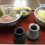 30369596 - 穴子天丼セット
