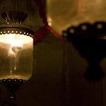 ノスタルジーテーブル - アンティークな照明