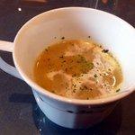 インド料理 ショナ・ルパ - Bランチスープ