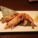 ブラッチュリア 炭味坐 - 天使の海老炭火焼 580円
